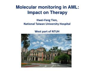 Molecular monitoring in AML: Impact on Therapy