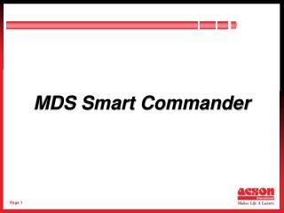 MDS Smart Commander