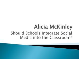 Alicia McKinley