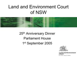 Land and Environment Court of NSW