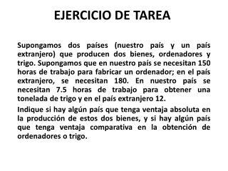 EJERCICIO DE TAREA