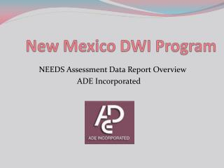 New Mexico DWI Program
