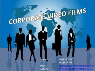 Corporate Videos are the Key to Success, Create One Now
