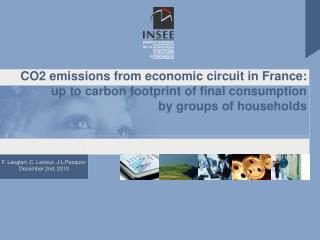 Assessing environmental sustainability:  building « carbon footprint » accounts