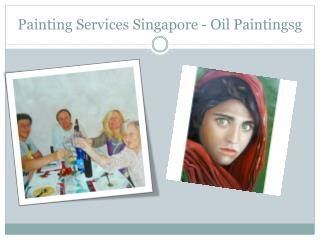 Painting Services Singapore - Oil Paintingsg