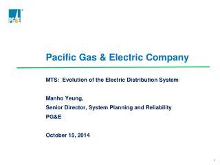 Pacific Gas & Electric Company