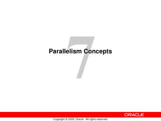 Parallelism Concepts