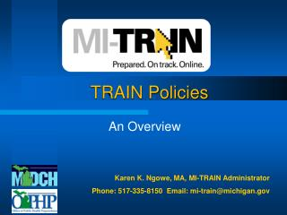 TRAIN Policies