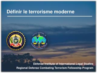 D�finir le terrorisme moderne