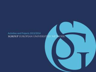 Activities and Projects 2013/2014