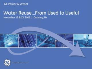 Water Economics Prof. David Sunding