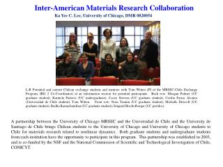 Inter -American Materials Research Collaboration