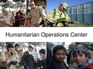 Humanitarian Operations Center