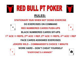 RED BULL PT POKER