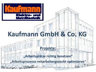 Kaufmann GmbH & Co. KG
