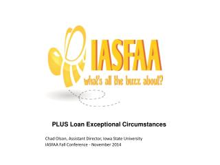PLUS Loan Exceptional Circumstances