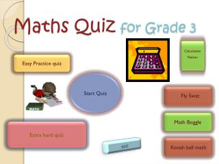 Maths  Quiz  for Grade 3