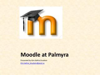 Moodle  at Palmyra