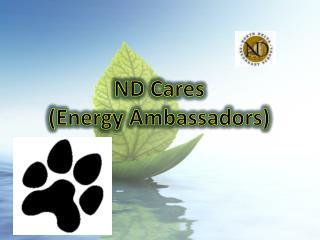 ND Cares (Energy Ambassadors)