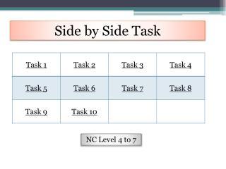 Side by Side Task