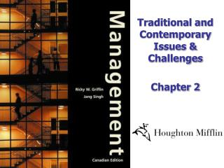 Traditional and Contemporary Issues & Challenges Chapter 2