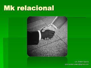 Mk  relacional