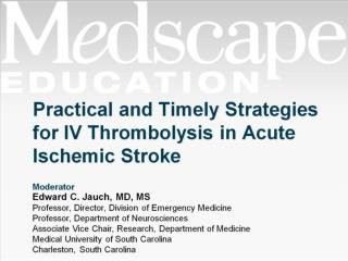 Practical and Timely Strategies for IV Thrombolysis in Acute Ischemic Stroke