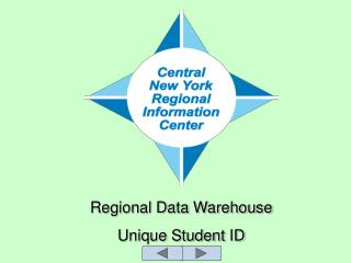 Regional Data Warehouse Unique Student ID