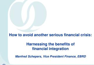 CEE financial integration has  supported growth….