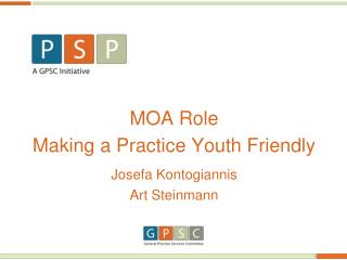 MOA Role Making a Practice Youth Friendly