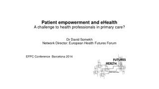 EFPC Conference  Barcelona 2014