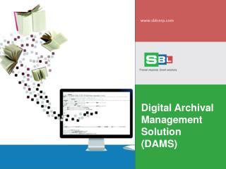 Document Archive Management  Services