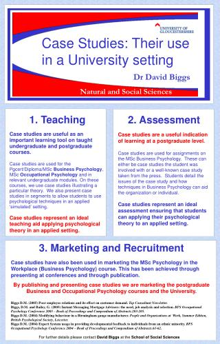 3. Marketing and Recruitment