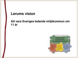 Lerums vision