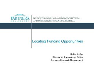 Locating Funding Opportunities