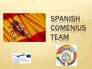 SPANISH COMENIUS TEAM