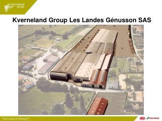 Kverneland Group Les Landes Génusson SAS