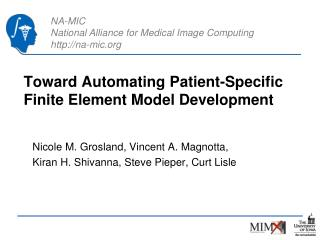 Toward Automating Patient-Specific Finite Element Model Development