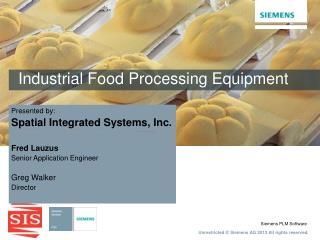 Industrial Food Processing Equipment