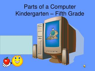 Parts of a Computer Kindergarten – Fifth Grade