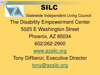 SILC Statewide Independent Living Council