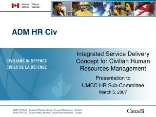 ADM HR Civ