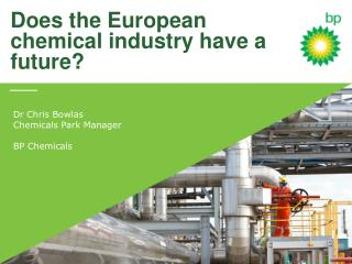 Does the European chemical  i ndustry  h ave a future?