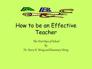 How to be an Effective Teacher