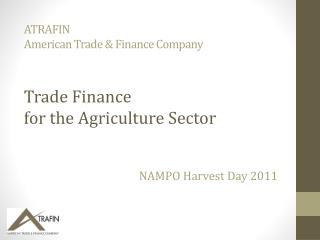 ATRAFIN American Trade & Finance Company