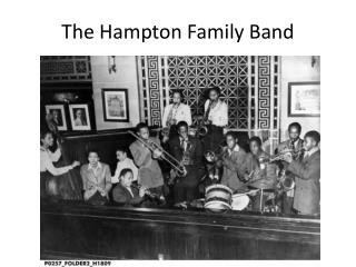 The Hampton Family Band