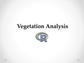 Vegetation Analysis