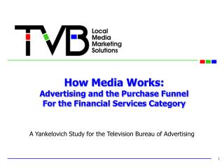 How Media Works: Advertising and the Purchase Funnel For the Financial Services Category