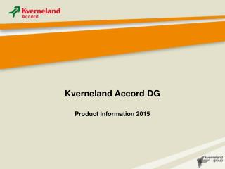 Kverneland Accord DG