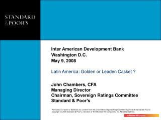Inter American Development Bank Washington D.C.   May 9, 2008
